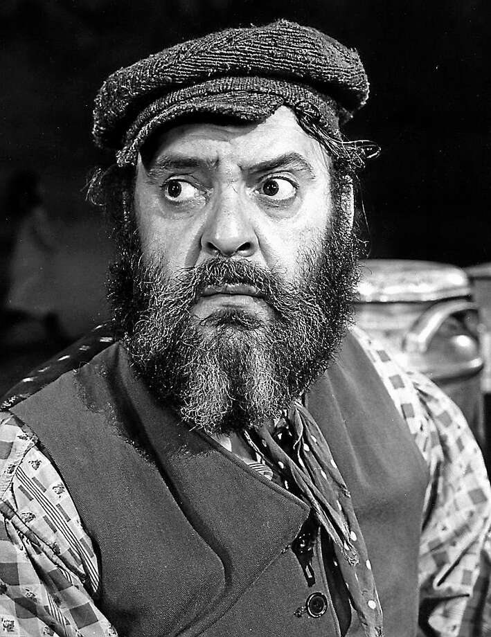 Submitted photo Alisa Solomon's book contains many anecdotes about the legendary Zero Mostel, the original Broadway Tevya. Photo: Journal Register Co.