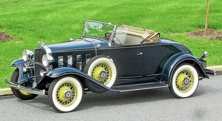 Submitted photo  This 1932 Chevrolet Deluxe Roadster is just one of the many automobiles that will be on display at the 7th Annual Essex Antique & Classic Car Show to be held on July 4th from 10 am to 2 pm at Hubbard Field in Essex. Photo: Journal Register Co.