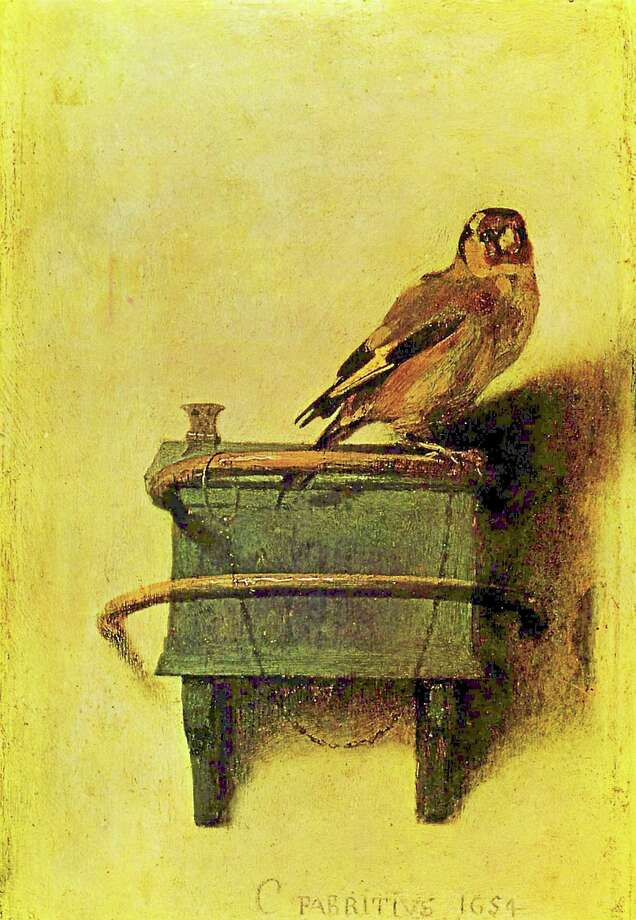 "Submitted photo - Acton Public Library ""The Goldfinch"" by Fabritus. Photo: Journal Register Co."