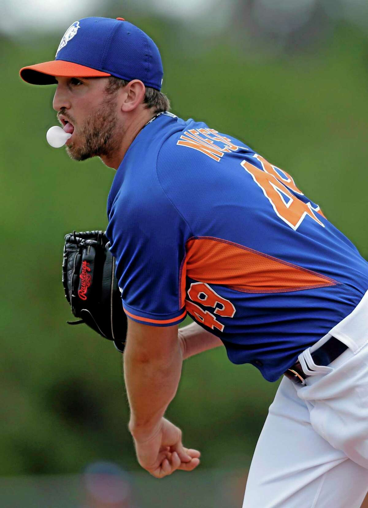 New York Mets starter Jon Niese had an MRI on his shoulder Wednesday, but no major issues were found.