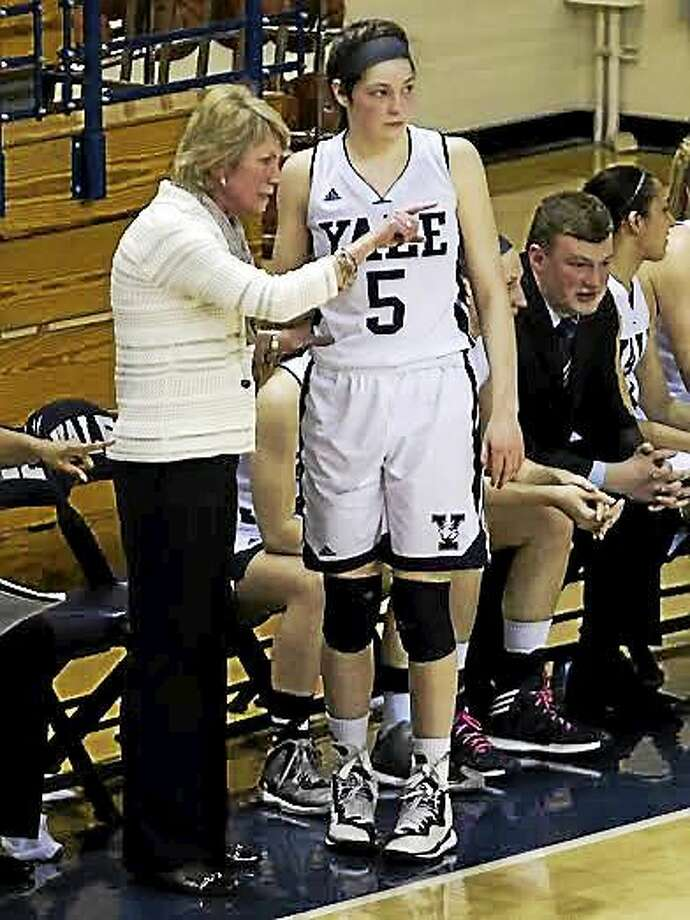 Katie Werner and Yale will take their shot against the lone unbeaten team in the nation, Princeton, on Saturday night in New Haven. Photo: Photo Courtesy Of Yale Athletics  / Steve Musco
