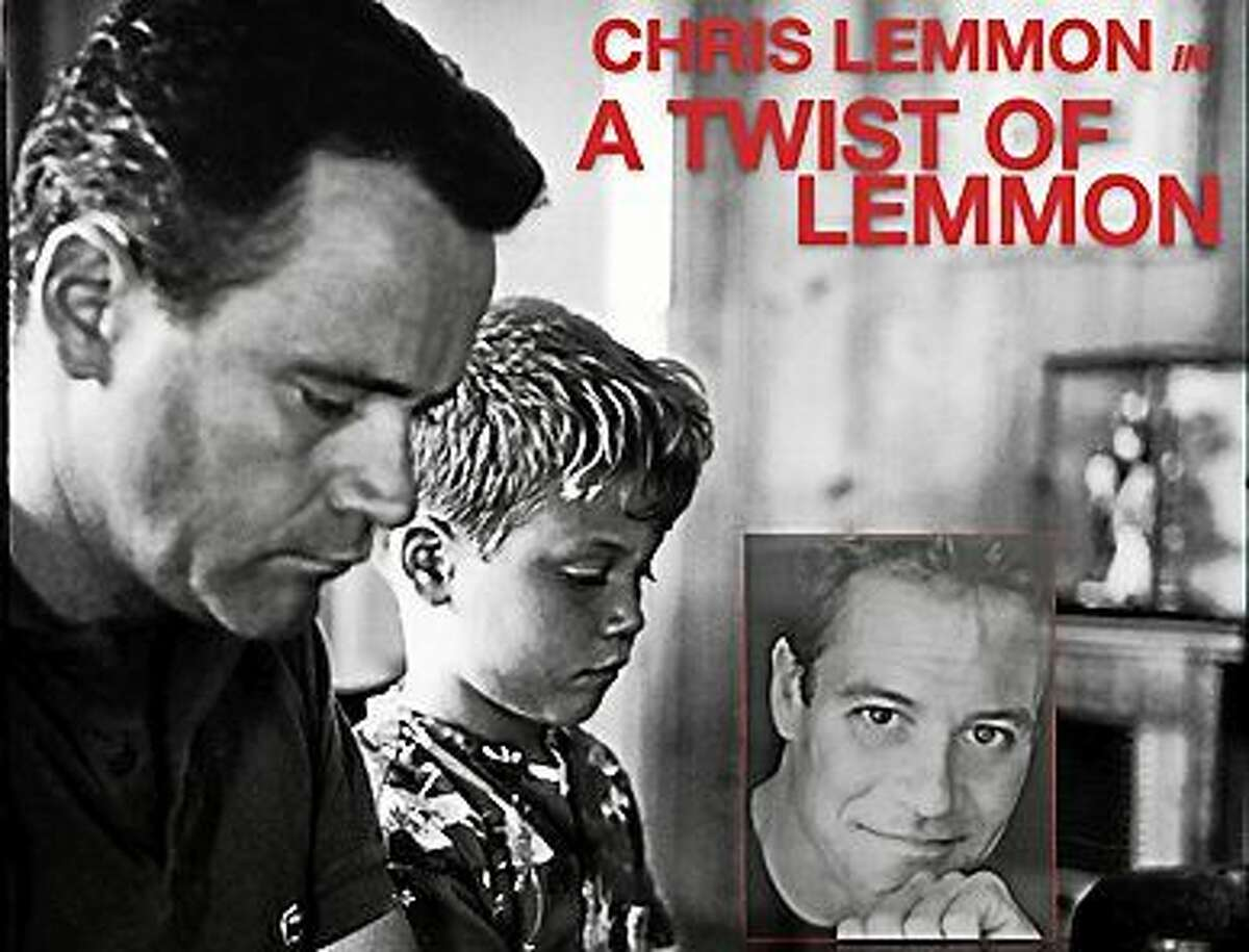 Contributed photo Chris Lemmon, son of famed actor Jack Lemmon, will give a Father's Day tribute at The Kate in Old Saybrook.