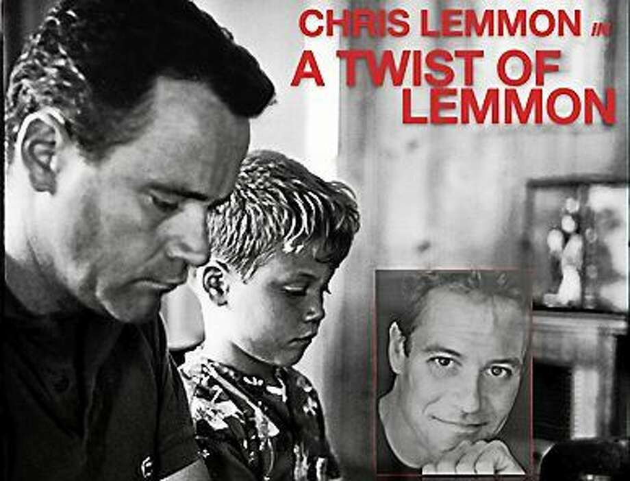 Contributed photo Chris Lemmon, son of famed actor Jack Lemmon, will give a Father's Day tribute at The Kate in Old Saybrook. Photo: Journal Register Co.