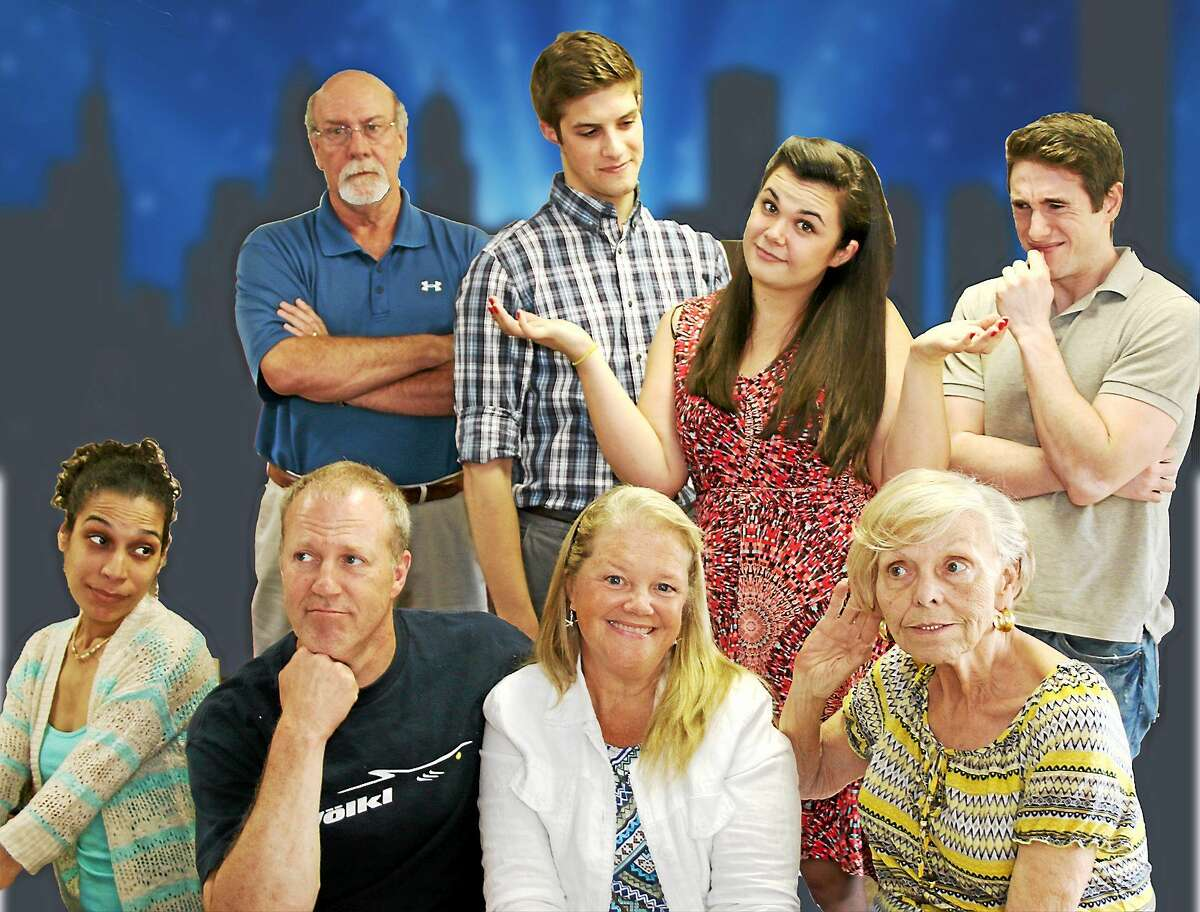 Contributed photo Saybrook Stage Company's cast of