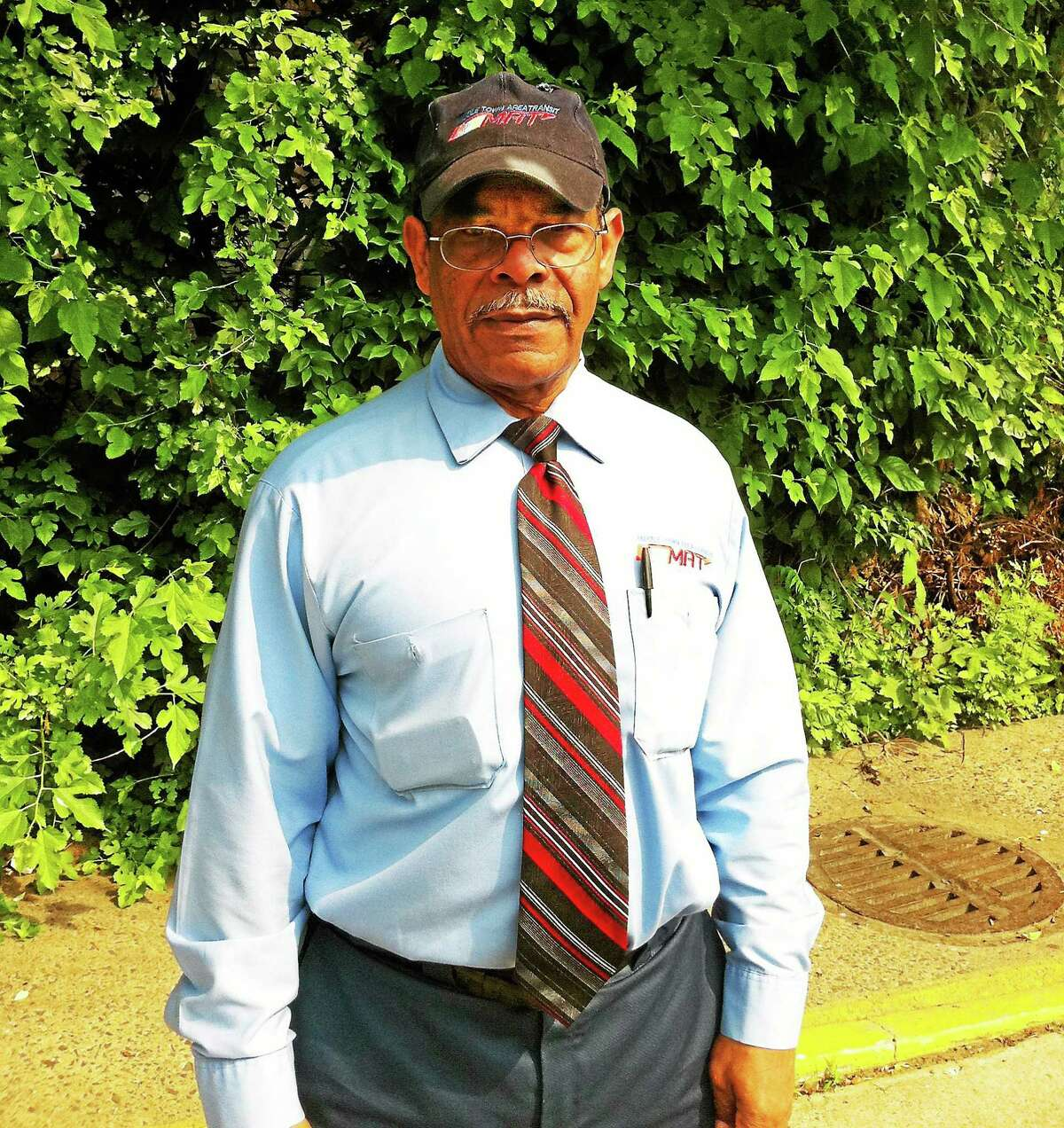 Submitted photo Middletown Area Transit senior bus driver Julian Lebron