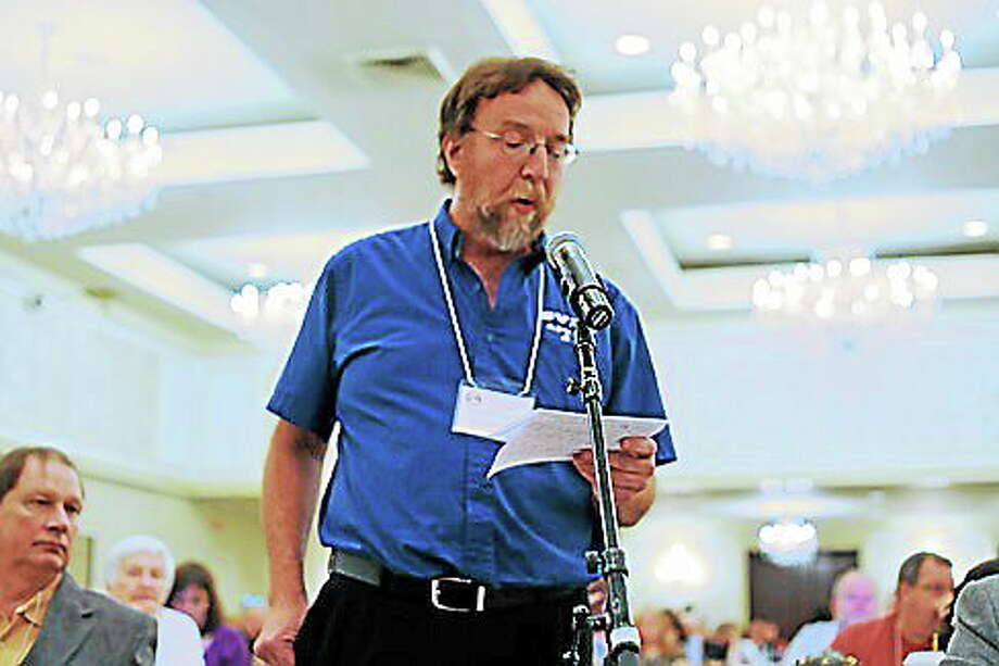Edward Leavy, AFT secretary-treasurer Photo: Photo Courtesy Of CT News Junkie