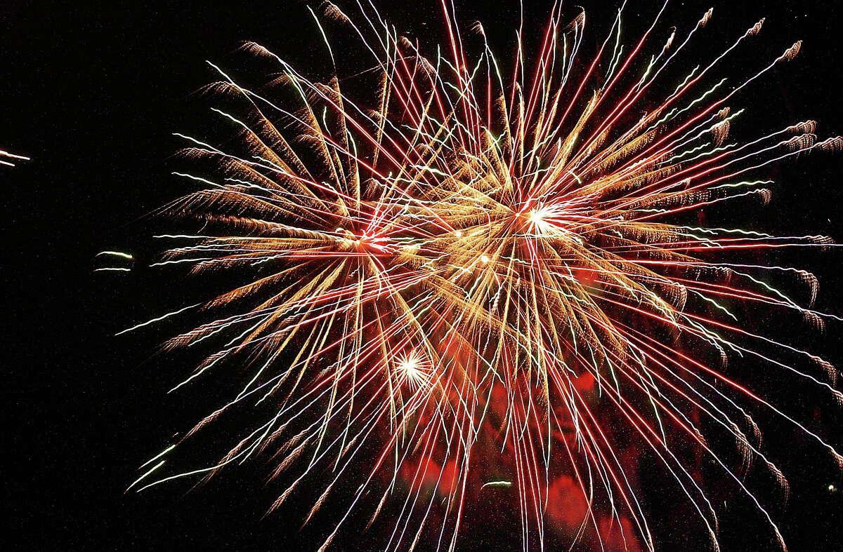 Middletown Press file photo. Fireworks