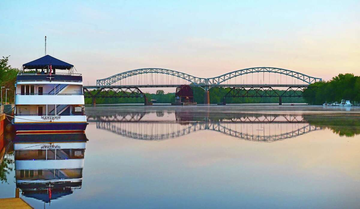 Shown here is an early morning view of the Connecticut River taken this past June.