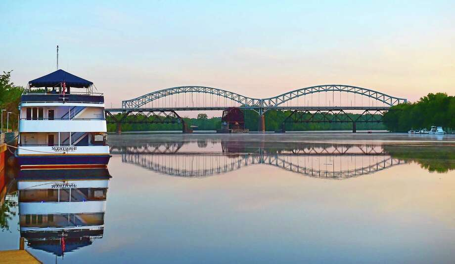 Shown here is an early morning view of the Connecticut River taken this past June. Photo: Catherine Avalone — New Haven Register   / New Haven RegisterThe Middletown Press