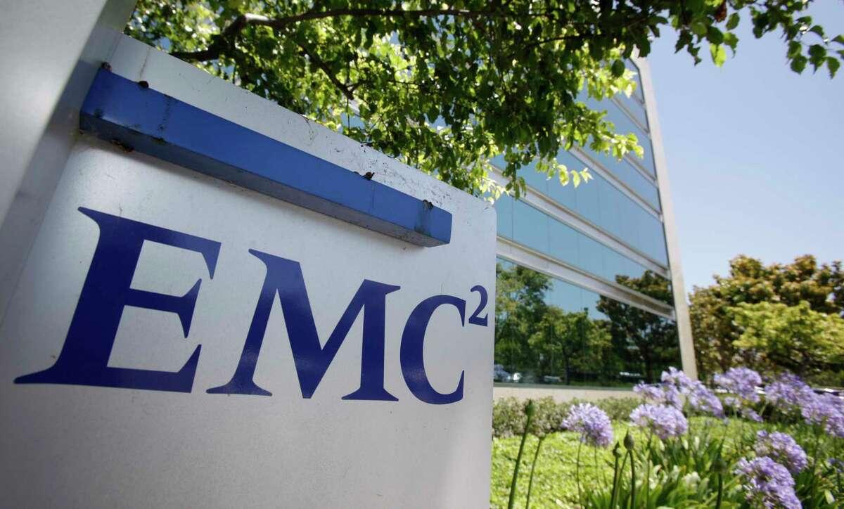 EMC offices in Santa Clara, Calif.