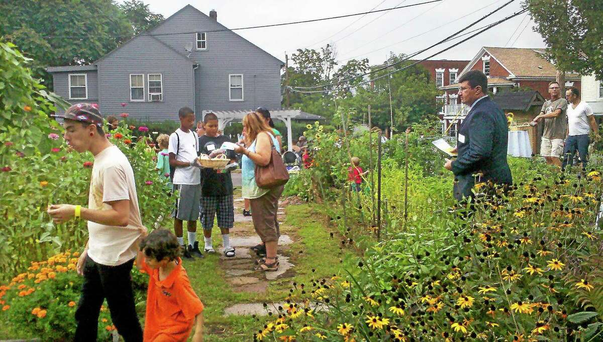 An image from the 2012 North End Action Team Garden Party on Erin Street in Middletown