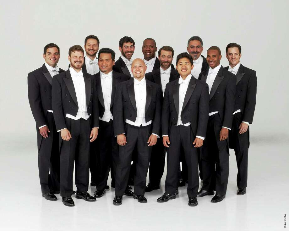 Contributed photo - Chanticleer The Grammy award-winning male vocal ensemble Chanticleer will perform on the Essex Winter Series on Sunday, March 1 at 3:00 p.m. at Old Saybrook High School. Chanticleer has been hailed as ìthe worldís reigning male chorusî by The New Yorker, and under its newly-appointed music director, William Fred Scott, the twelve-voice ensemble will perform a program of music from the sixteenth century to the present entitled ìThe Gypsy in My Soul.î Photo: Lisa Kohler Photography / Photos by Lisa Kohler