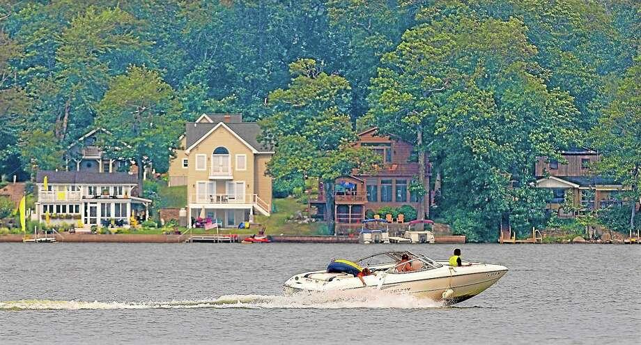 Lake Pocotopaug in East Hampton Photo: File  / TheMiddletownPress
