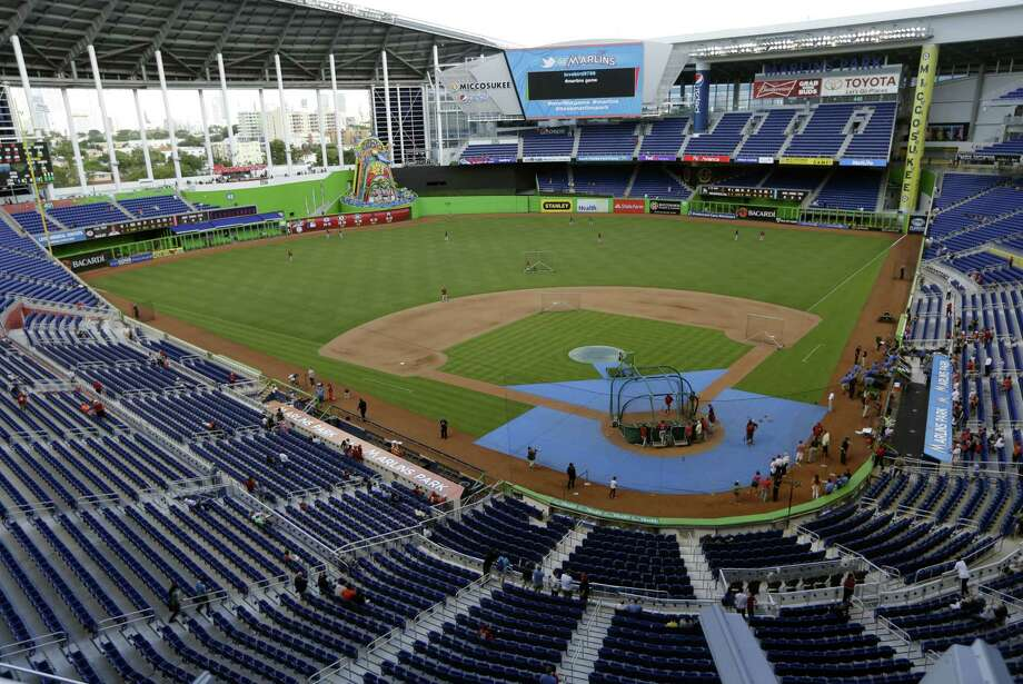 The Miami Marlins have been awarded the 2017 All-Star Game and an announcement by baseball Commissioner Rob Manfred is planned for this week at the team's ballpark. Photo: Lynne Sladky — The Associated Press File Photo  / AP