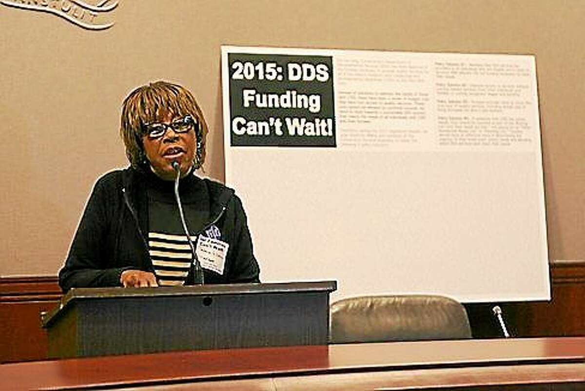 Velma Williams-Estese. (Hugh McQuaid - CT News Junkie)