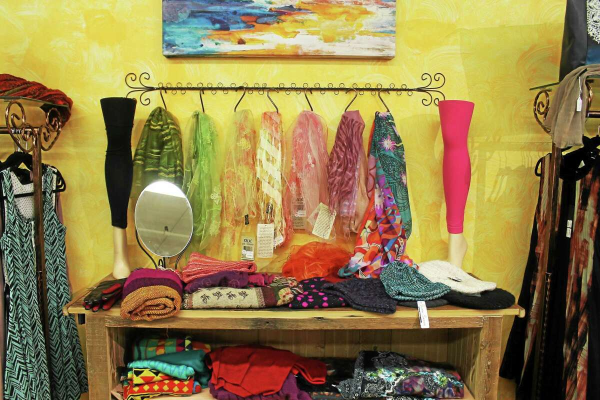 The newly opened Yurway Boutique carries colorful women's shoes and accessories with many of the items sourced from fair trade sellers.
