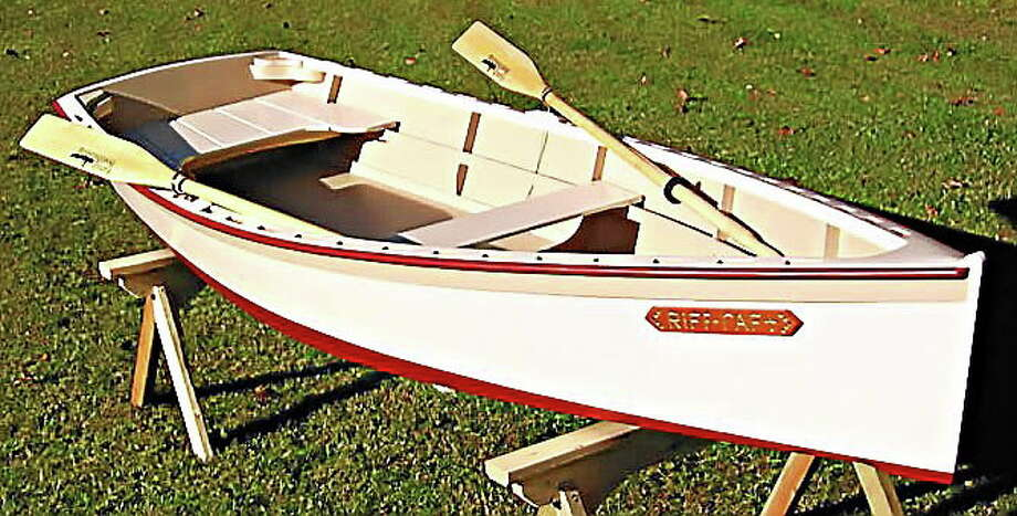 This summer's boat building workshop at the Connecticut River Museum will feature the CRM 12, an adapted Bevin's Skiff kit suitable for beginner boat builders. Photo: Courtesy Photo