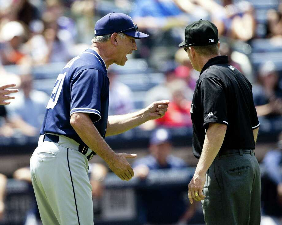 The San Diego Padres have fired manager Bud Black. Photo: John Bazemore — The Associated Press  / AP