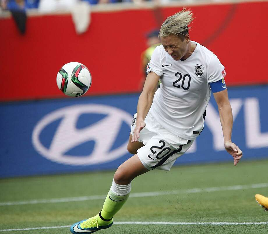 Abby Wambach says she'll embrace being used as a sub rather than a starter, if it means the U.S. wins. Photo: The Associated Press File Photo  / CP