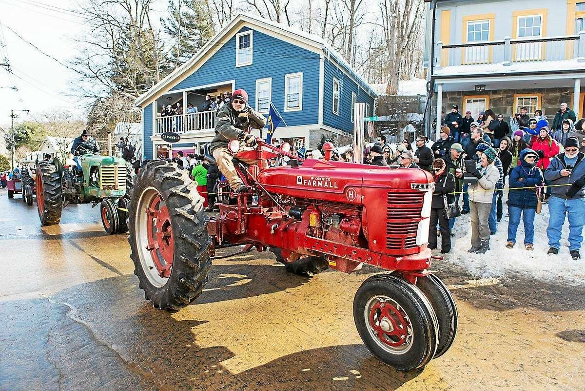 Photos by John Stack This year's 14th annual tractor parade is one of the big attractions at the Chester Winter Carnivale. This year's parade begins at 2 p.m.