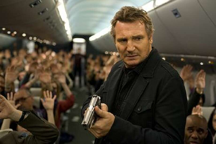 """Non-Stop,"" with Liam Neeson, is made for the multiplex, with a lot of ""Airport"" DNA in its genes. Illustrates FILM-NONSTOP-ADV28 (category e), by Michael O'Sullivan (c) 2014, The Washington Post. Moved Wednesday, Feb. 26, 2014. (MUST CREDIT: Myles Aronowitz) Photo: The Washington Post / THE WASHINGTON POST"