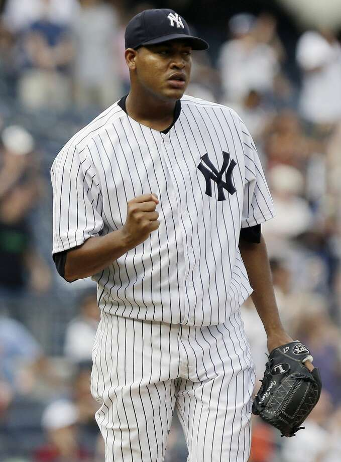 New York Yankees starter Ivan Nova hopes to throw off a mound soon. Photo: Frank Franklin II — The Associated Press File Photo  / AP