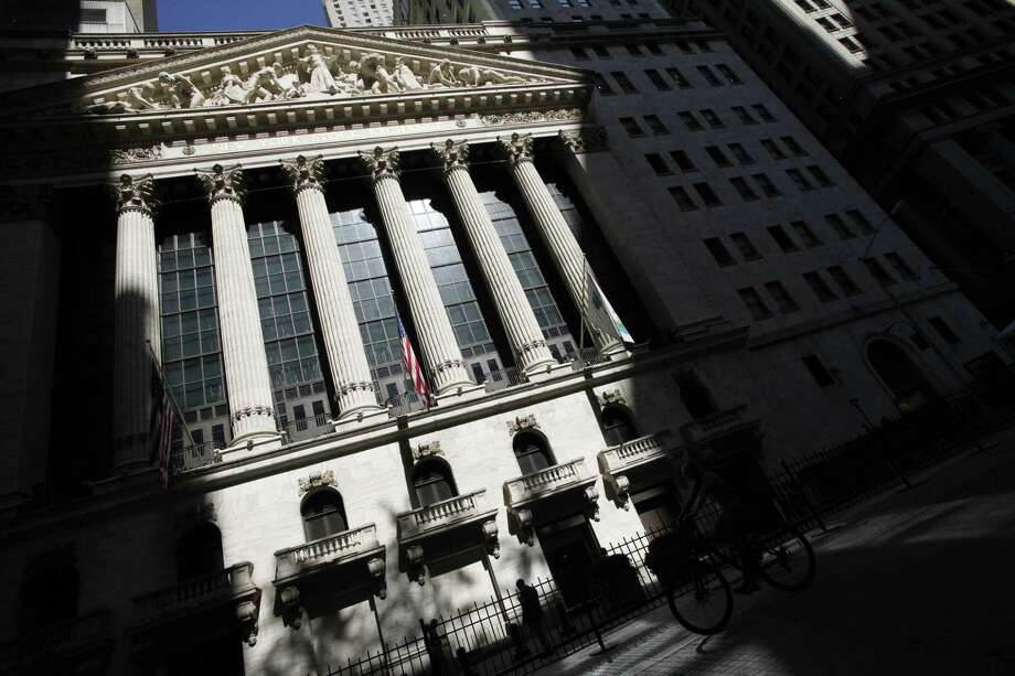 FILE - This July 15, 2013 file photo shows the New York Stock Exchange in New York. U.S. stocks are opening lower Monday, June 15, 2015, after weekend talks between Greece and its creditors stalled, raising the possibility the country could default. Photo: THE ASSOCIATED PRESS / AP