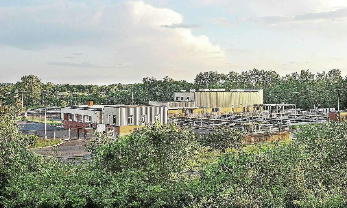 Mattabassett District Sewage Treatment Plant in Cromwell is seen in this 2008 file photo.