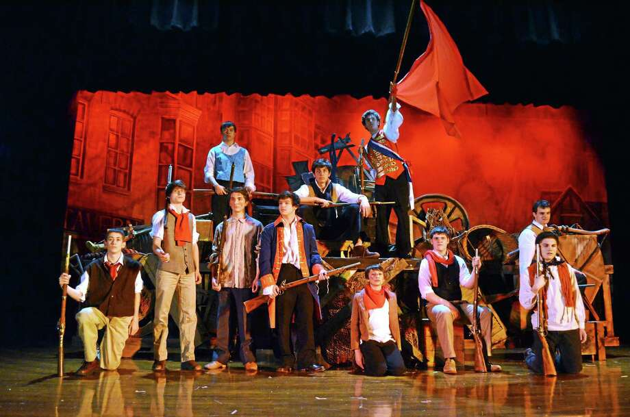 """Mercy High School puts on """"Les Miserables"""" at the Middletown school. John Berry - The Middletown Press Photo: Journal Register Co."""