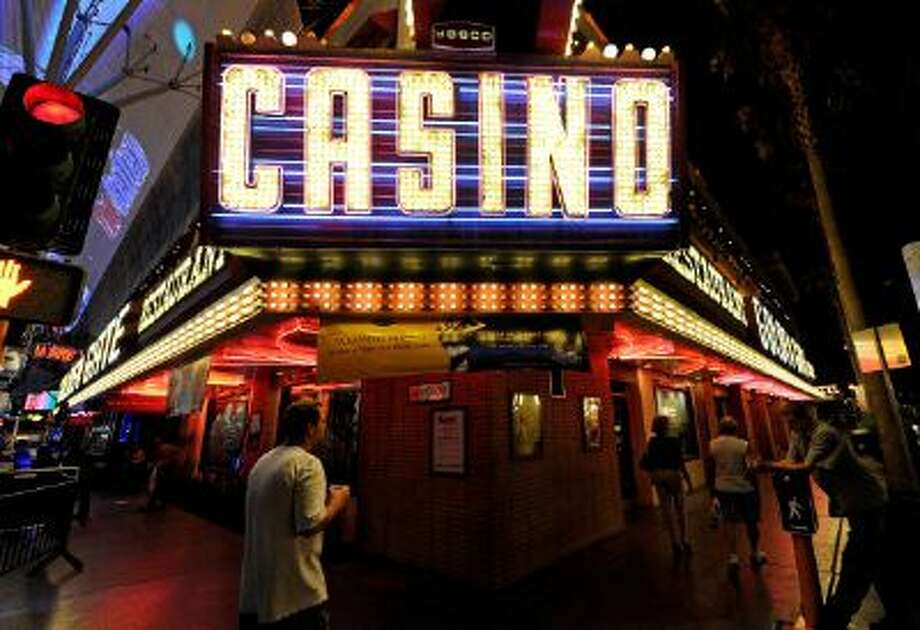LAS VEGAS, NV - JULY 19:  A general view of a casino sign outside the Golden Gate Hotel & Casino on Fremont Street July 19, 2011 in Las Vegas, Nevada.  (Photo by Ethan Miller/Getty Images) Photo: Getty Images / 2011 Getty Images