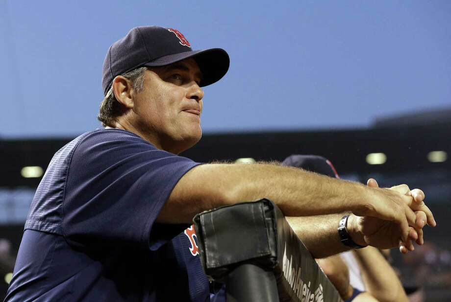 "Manager John Farrell seems to have lost control of the clubhouse in Boston and the current state of the Red Sox reminds Register columnist Chip Malafronte a lot of ""The Bronx Zoo"" days for the Yankees in the 1970s. Photo: The Associated Press File Photo  / AP"
