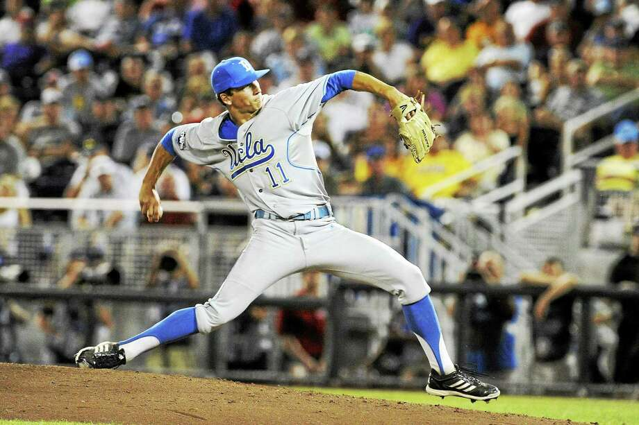 Yankee first-round pick James Kaprielian, out of UCLA, could be ready for prime time much sooner than later. Photo: The Associated Press File Photo  / FR9944 AP