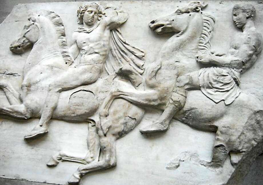 Parthenon Marbles Photo: AP Photo