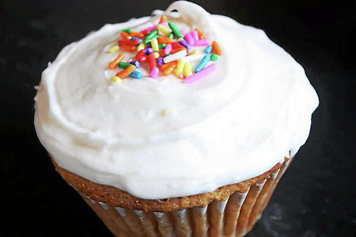 Submitted photo. One of the vegan cupcakes available at I.O.N. Restaurant in Middletown.