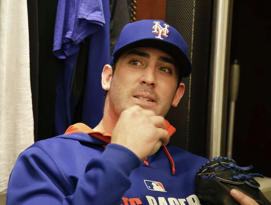 New York Mets pitcher Matt Harvey says he's willing to accept whatever innings limits the team decides on as he returns from elbow ligament-replacement surgery. Photo: The Associated Press File Photo  / AP