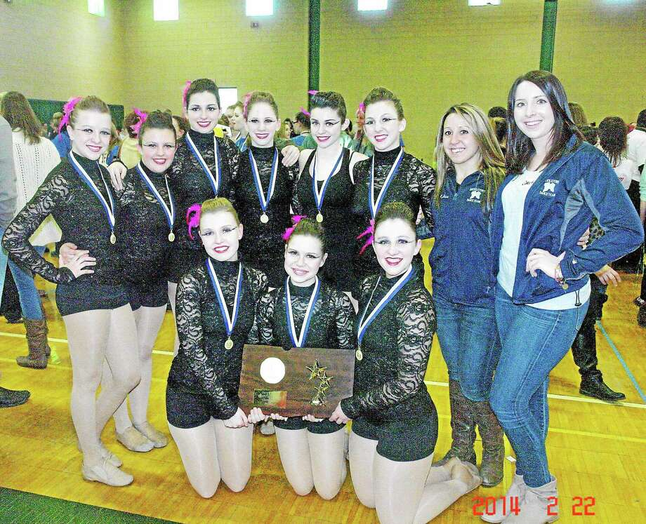 The Middletown High Dance Team took their third state championship last weekend with their jazz routine. Photo: Submitted Photo