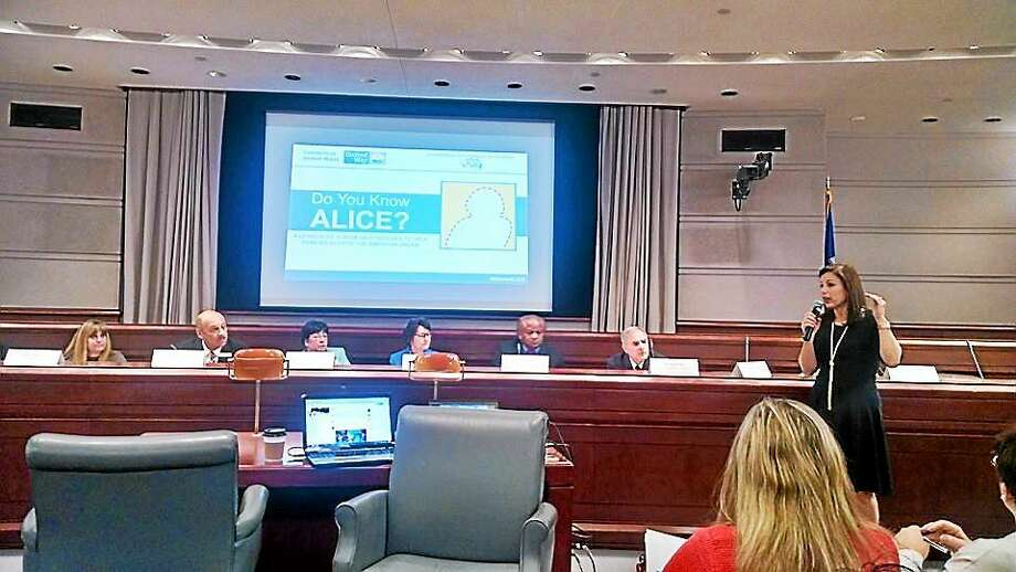 Connecticut United Ways and the Connecticut Commission on Children held a legislative forum in March about moving communities and ALICE families forward. Photo: File Photo