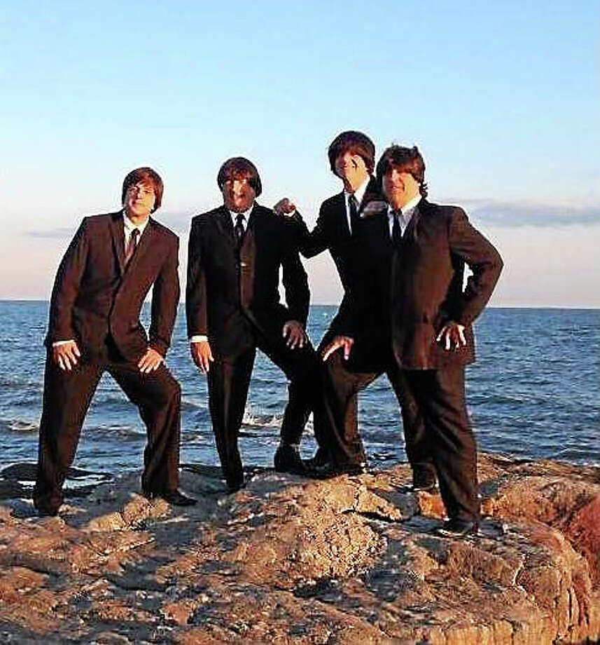 Contributed photos The Beatles tribute band, Ticket to Ride, will perform on John Lennon's 75th birthday, Oct. 9, at Bridge Street Live in Collinsville. Photo: Journal Register Co.