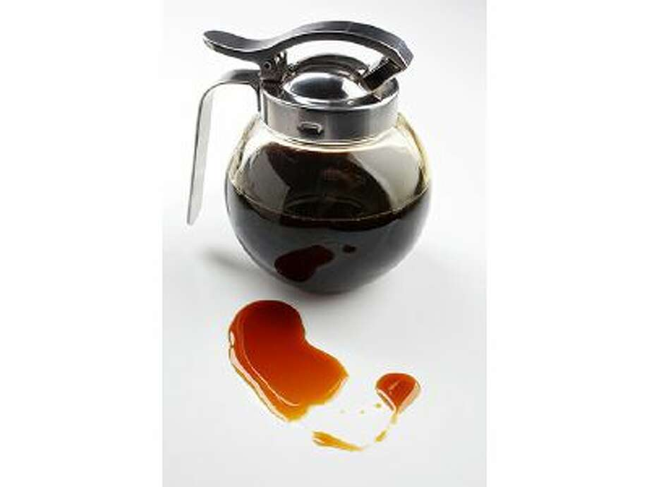 How a new flour and homemade syrups upped our pancake routine. Coffee Maple Syrup. Illustrates PANCAKES (category d), by Nevin Martell, special to The Washington Post. Moved Monday, Feb. 24, 2014. (MUST CREDIT: Photo for The Washington Post by Deb Lindsey) Photo: The Washington Post / THE WASHINGTON POST
