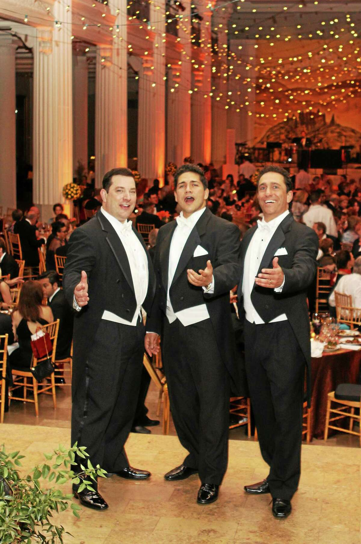 Submitted photo The Sicilian Tenors will perform the opening concert of the Greater Middletown Concert Association's season of shows Oct. 18.