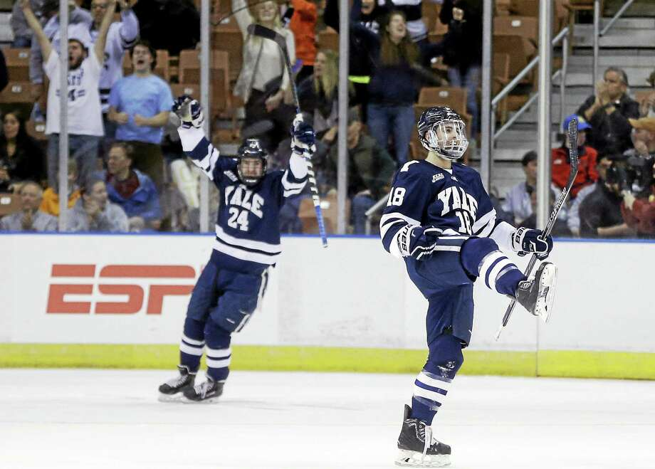 Yale will join UConn at the Desert Hockey Classic starting Jan. 8 in Glendale, Arizona. Photo: The Associated Press File Photo