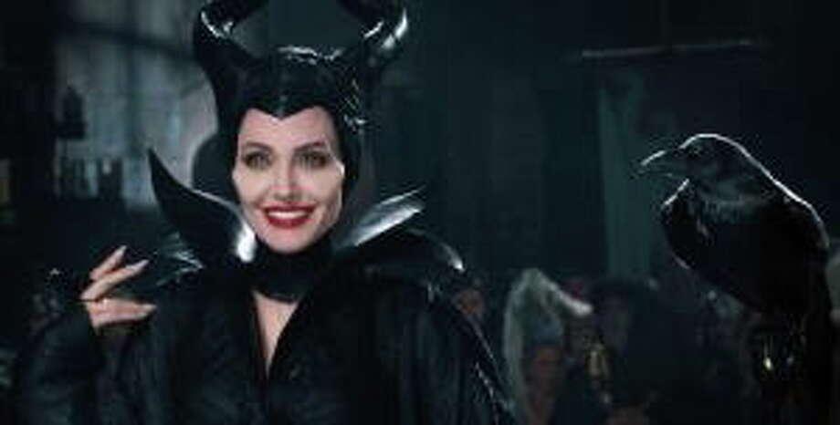 Maleficent (Angelina Jolie) in 'Maleficent.' Photo: (Disney Enterprises)