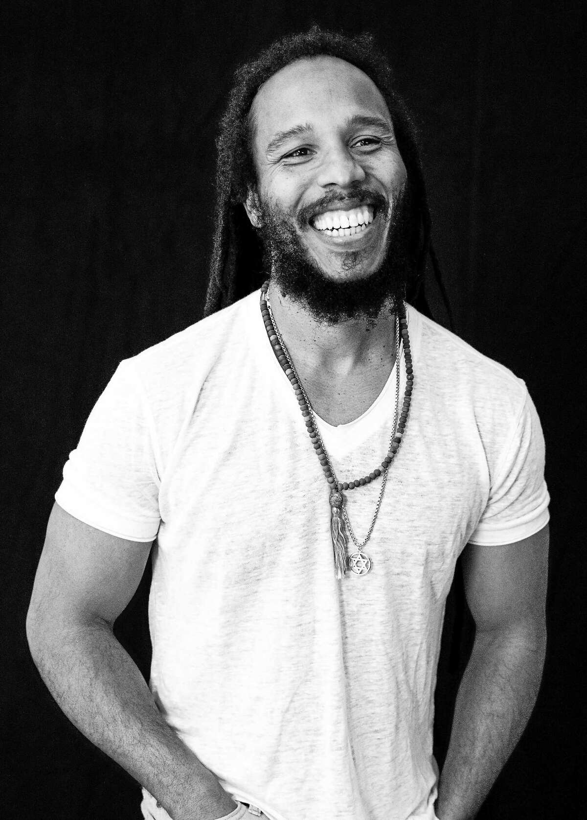 Photo by Malia James Musician Ziggy Marley, the oldest son of Rita Marley and reggae legend Bob Marley, will perform at the Klein Auditorium in Bridgeport on Sunday, Oct. 12. Early this year, Ziggy released his fifth solo album, entitled ìFly Rastaî, with background vocals from Cedella Marley, Sharon Marley, Rica Newell, Tracy Hazzard, Ian ìBeezyî Coleman, Vincent Brantley, Sean Dancy, and Tim Fowlles. For tickets or more information you can visit www.theklein.org or call 800-424-0160.
