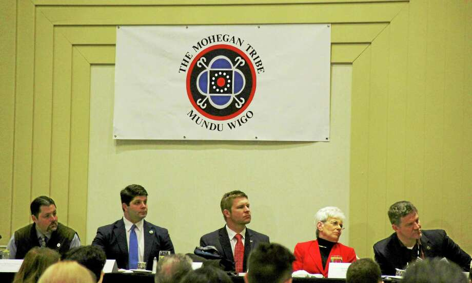 Kathleen Schassler/MiddletownPress Photo: Kathleen Schassler — Middletown Press  U.S. Congressman Joe Courtney Was The Featured Speaker At  / Kathleen Schassler All Rights