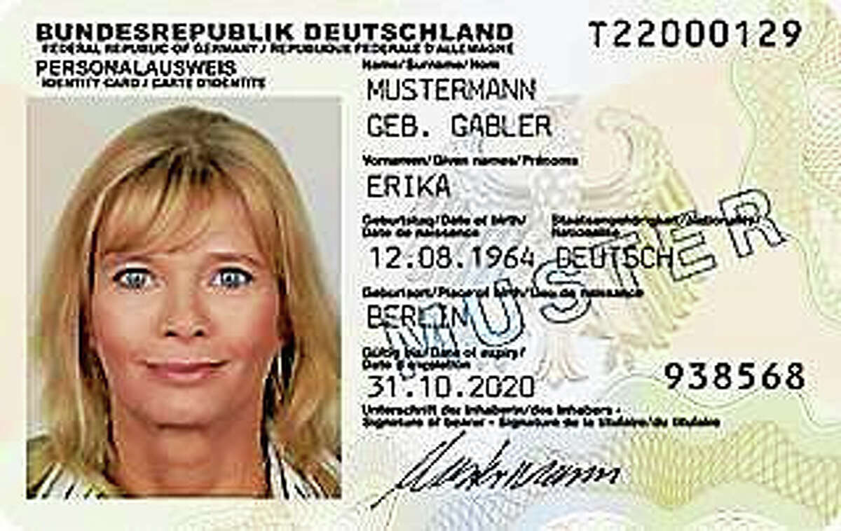 Sample ID cards.