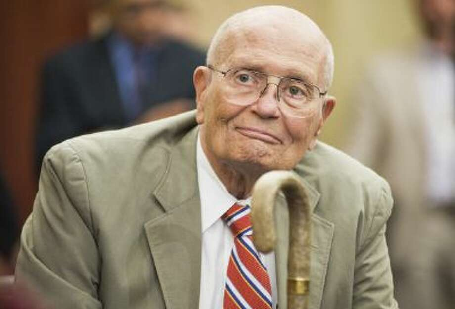 UNITED STATES - JULY 27:  Rep. John Dingell, D-Mich., attends a news conference in the Capitol Visitor Center to recognize the 46th anniversary of Medicare.  (Photo By Tom Williams/Roll Call) Photo: CQ-Roll Call,Inc. / © Roll Call Group?