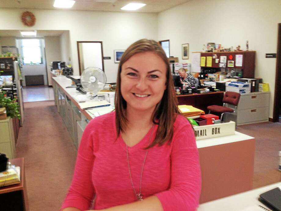 Jillian M. Massey is Cromwell's new zoning enforcement officer. Photo: Jeff Mill — The Middletown Press