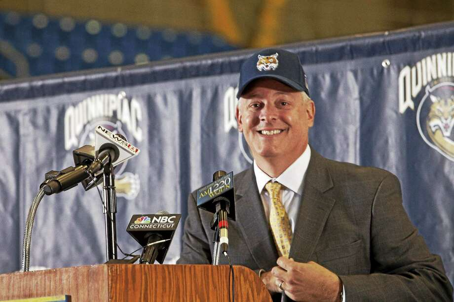 Quinnipiac introduced Greg Amodio as its new director of athletics and recreation on Wednesday. Photo: Photo Courtesy Of Quinnipiac Athletics  / Johnathon Henninger