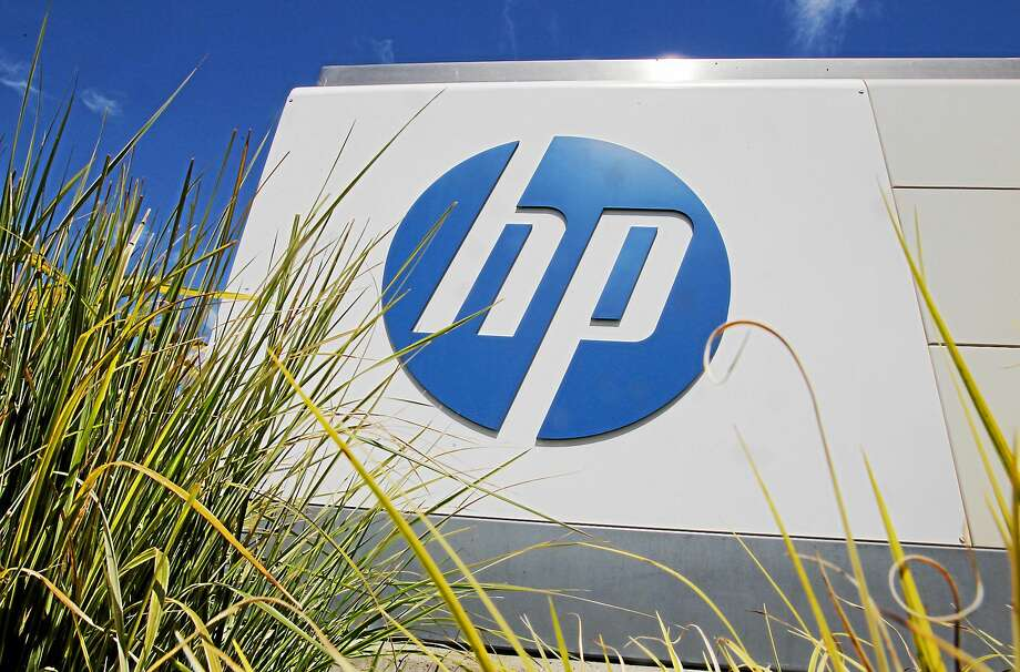 The Hewlett-Packard Co. logo is seen outside the company's headquarters in Palo Alto, Calif. Photo: AP Photo/Paul Sakuma, File  / AP