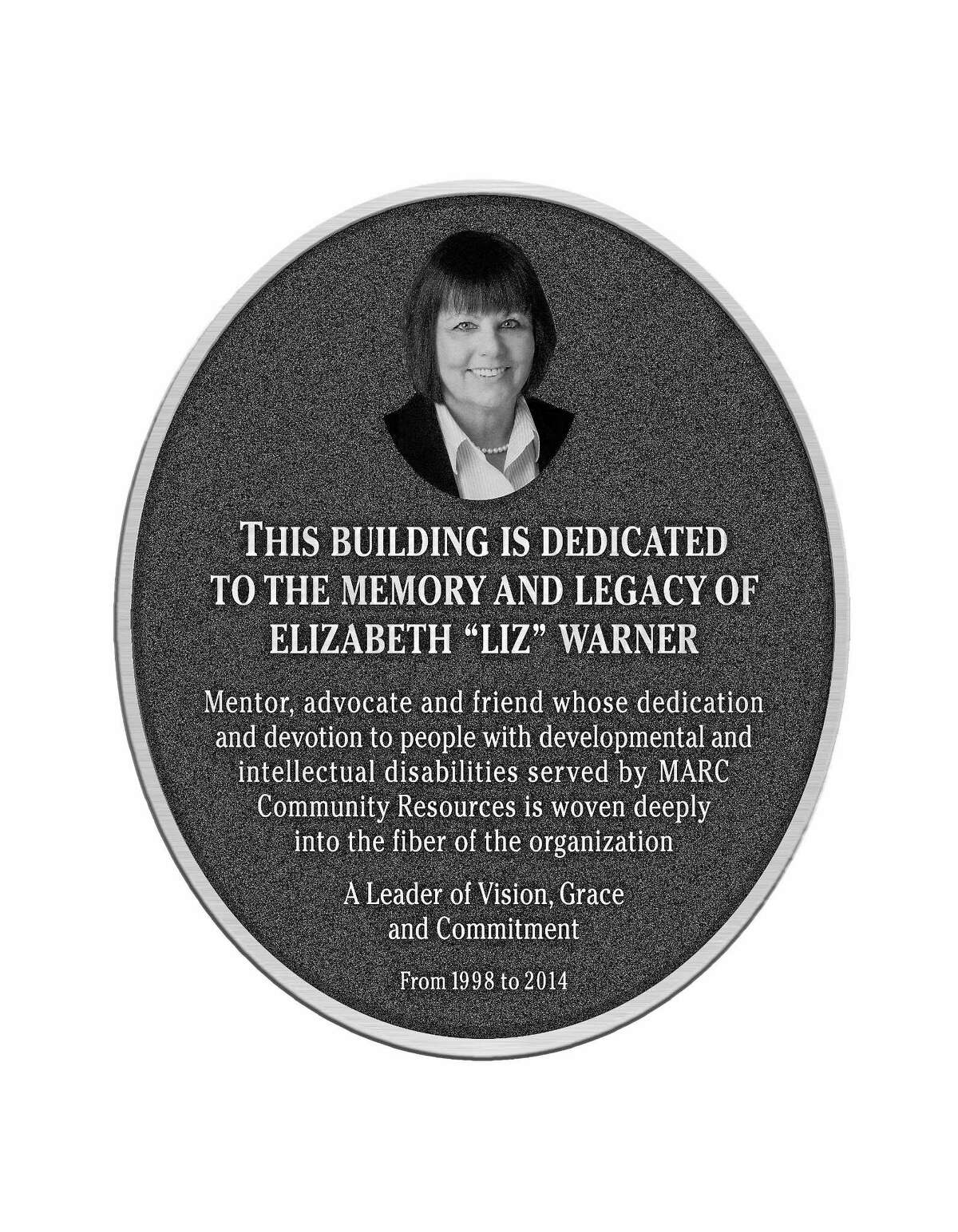 Liz Warner, president and chief executive officer of MARC Community Resources in Middletown, served the organization for more than 26 years before her death late last year.